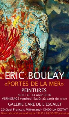 Affiche Eric Boulay