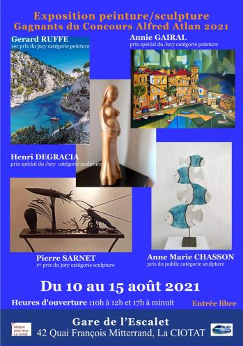 Affiche gagnants concours alfred atlan