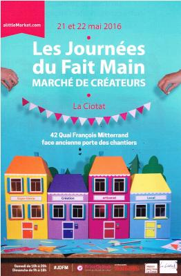 Flyer journees du fait main 2016