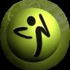 Green zumba logo