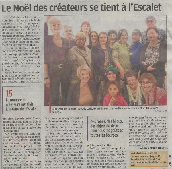 Noel des createurs18122014