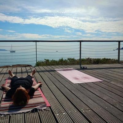 Photo yoga pour flyer yin yoga 2