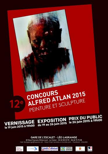 Affiche concours Alfred Atlan 2015